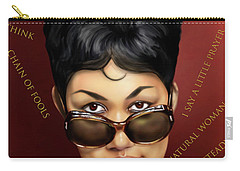 Aretha Franklin Ain't Nothing Like The Real Thing Carry-all Pouch