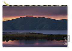 Aregunyats Range And Sevan Lake At Sunset, Armenia Carry-all Pouch