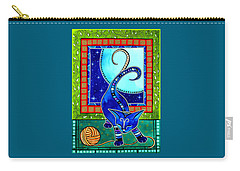 Aries Cat Zodiac Carry-all Pouch