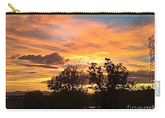 Carry-all Pouch featuring the photograph Arizona Awesome by Anne Rodkin