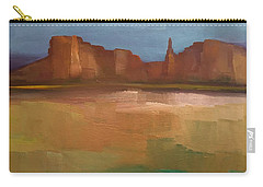 Carry-all Pouch featuring the painting Arizona Calm by Michelle Abrams