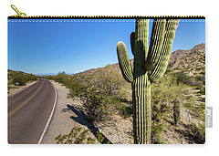 Arizona Highway Carry-all Pouch by Ed Cilley