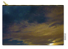 Arizona Moonset Carry-all Pouch by Kimo Fernandez