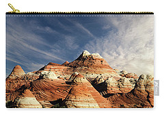 Carry-all Pouch featuring the photograph Arizona North Coyote Buttes by Bob Christopher