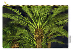 Arizona Palms At Night Carry-all Pouch