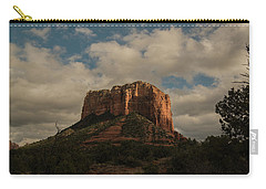 Carry-all Pouch featuring the photograph Arizona Red Rocks Sedona 0222 by David Haskett