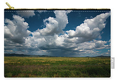 Carry-all Pouch featuring the photograph Arizona Storm 2139  by David Haskett