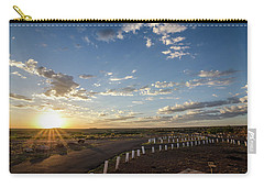 Carry-all Pouch featuring the photograph Arizona Sunrise by Margaret Pitcher