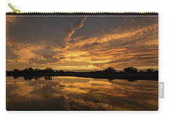 Arizona Sunset Carry-all Pouch by Martina Thompson