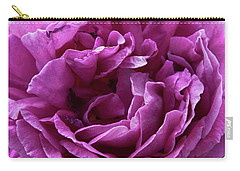 Arizona Territorial Rose Garden - Purple Dance Carry-all Pouch by Kirt Tisdale
