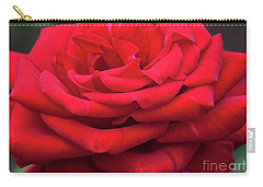 Carry-all Pouch featuring the digital art Arizona Territorial Rose Garden - Red Velvet by Kirt Tisdale