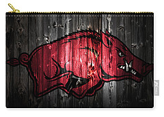 Arkansas Razorbacks 2a Carry-all Pouch by Brian Reaves
