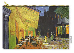 Arles Cafe Terrace At Night Carry-all Pouch