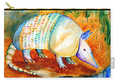 Armadillo Reflections Carry-all Pouch by Carlin Blahnik
