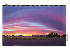 Carry-all Pouch featuring the photograph Armijo Sunset by Geoffrey C Lewis
