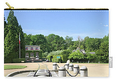 Carry-all Pouch featuring the photograph Armistice Clearing In Compiegne by Travel Pics
