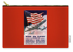 Army Air Corps Recruiting Poster Carry-all Pouch