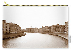 Arno River In Pisa Carry-all Pouch