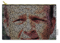 Arnold Palmer Win List Mosaic Carry-all Pouch by Paul Van Scott