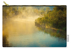 Carry-all Pouch featuring the photograph Around The Bend by Don Schwartz
