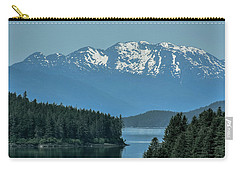 Carry-all Pouch featuring the photograph Around The Corner by Melissa Lane