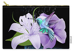Arrival Hummingbird Carry-all Pouch