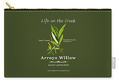 Arroyo Willow - Color Carry-all Pouch