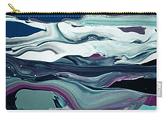 Carry-all Pouch featuring the painting Art Abstract by Sheila Mcdonald