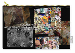 art collage Italy Carry-all Pouch