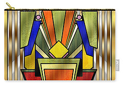 Art Deco 26 Carry-all Pouch