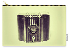 Art Deco Baby Brownie Yellow Camera Carry-all Pouch