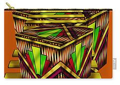 Art Deco Cubes 2 - Transparent Carry-all Pouch