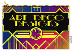 Art Deco Designs Carry-all Pouch