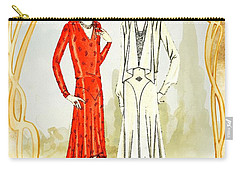 Art Deco Fashion Girls Carry-all Pouch