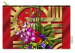 Art Deco Floral - Chuck Staley Carry-all Pouch