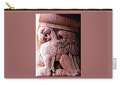 Art Deco Griffin Circa 1925 Carry-all Pouch by Peter Gumaer Ogden