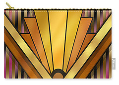Art Deco 12v Carry-all Pouch