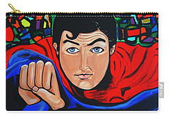 Art Deco  Superman Carry-all Pouch