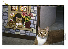 Art Imitates Life Carry-all Pouch by Sally Weigand