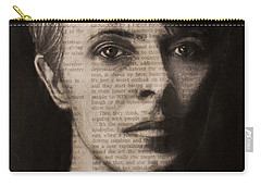 Art In The News 78-bowie Carry-all Pouch