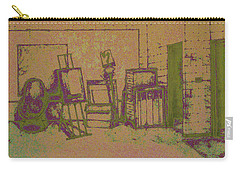Art Intro Mixed Media Carry-all Pouch