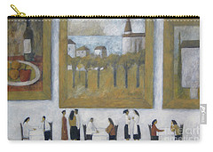 Art Is Long, Life Is Short Carry-all Pouch