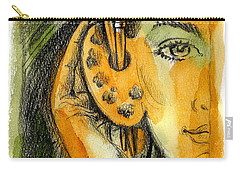 Art Of Listening Carry-all Pouch by Leon Zernitsky