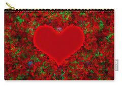 Art Of The Heart 2 Carry-all Pouch by Anton Kalinichev