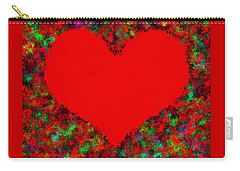 Art Of The Heart Carry-all Pouch by Anton Kalinichev