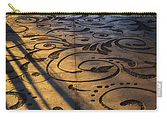 Carry-all Pouch featuring the photograph Art Walk by Glenn DiPaola