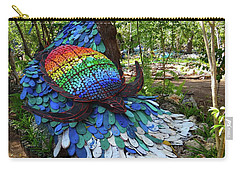 Art With Recycling - Turtle Carry-all Pouch by Exploramum Exploramum