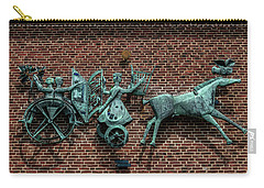 Art Work In Ystad, Sweden Carry-all Pouch by Martina Thompson