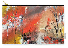 Carry-all Pouch featuring the painting Art Work by Sheila Mcdonald