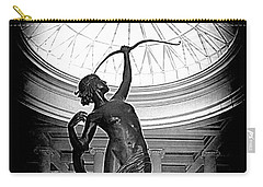 Carry-all Pouch featuring the photograph Artemis At Huntington Library by Lori Seaman